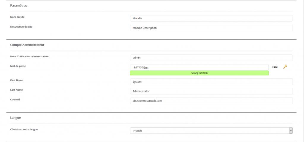 D'autres paramétrages sont parfois nécessaires, comme pour accéder à votre site